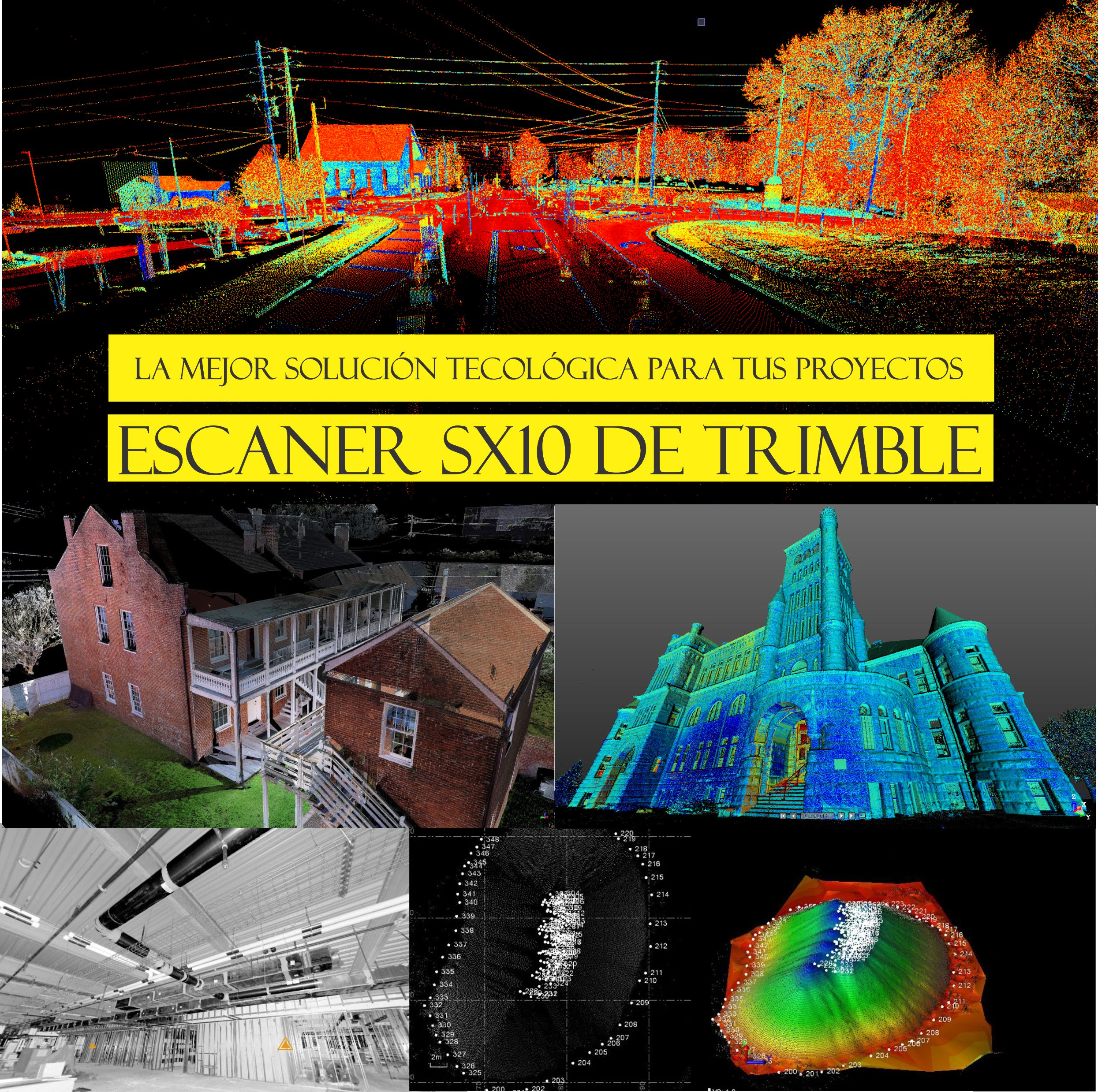 Estación/ Escaner Trimble SX10 – KPN