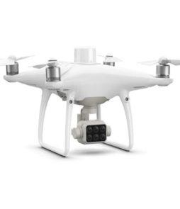 dji-phantom-4-multiespectral-es-un-dron-para-análisis-de-salud-de-las-plantas-en-agricultura
